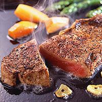 クレイジーガーリックのレシピ ステーキ