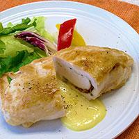 クレイジーバジルのレシピ チーズチキン